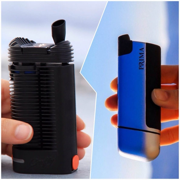Prima Portable Vaporizer & the Crafty by Storz and Bickel