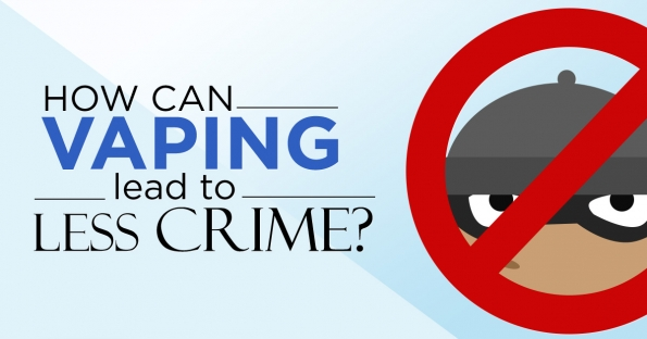 How Vaping can Lead to Less Crime if People Stop Smoking?