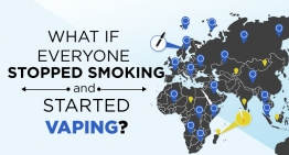 What if Everyone Stopped Smoking and Started Vaping?