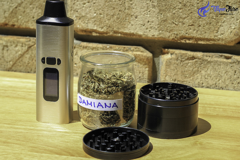 WOW Portable Vaporizer with Damiana