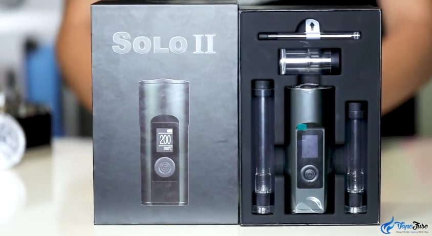 Arizer Solo II Portable New Package Design