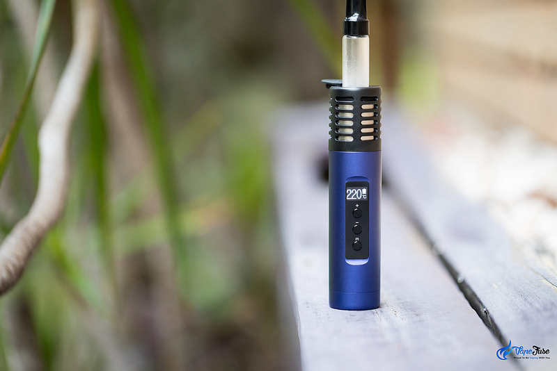 Arizer Air II Portable Vaporizer Blue Outdoor