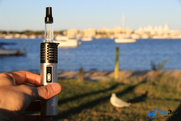 Arizer Air Silver With Seagulls.