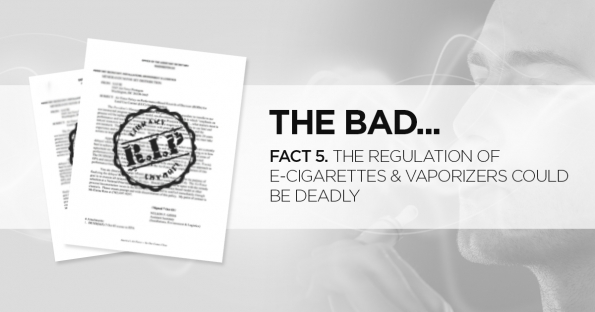 The Regulation of E-Cigarettes & Vaporizers Could Be Deadly