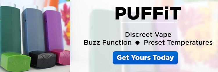 PUFFiT X Portable Vaporizer