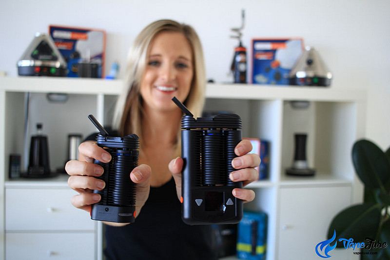 Storz&Bickel Crafty and Mighty Portable Vaporizers Comparision