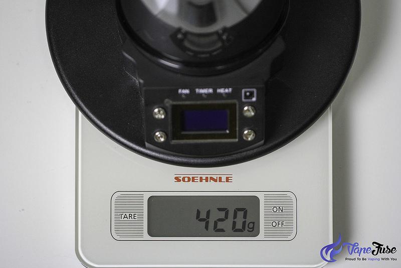 arizer-extreme-q-vaporizer-weight