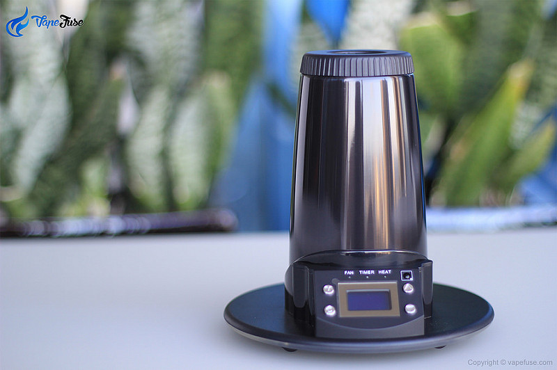 Arizer Extreme Q Desktop Vaporizer User's Review
