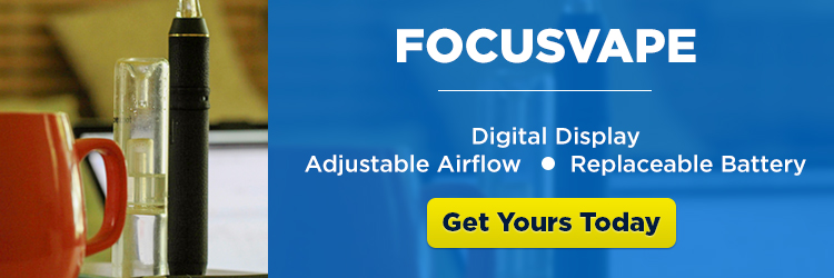 FocusVape Pro Portable Vaporizer with Water Bubbler - CTA