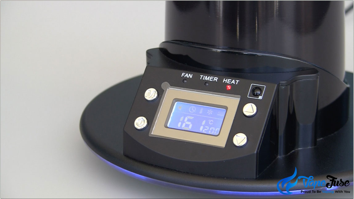 Arizer Extreme Q Desktop Vaporizer Digital Display