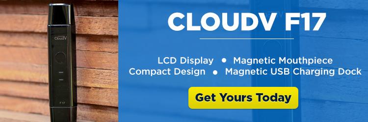 CloudV F17 Portable Vaporizer - CTA