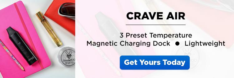 Crave Air Portable Vaporizer - CTA