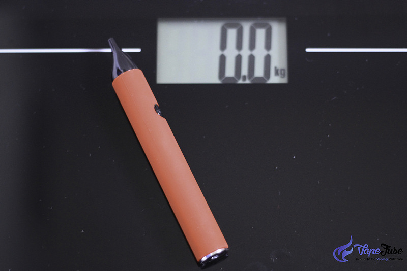 Phantom Mini Portable Vaporizer On Scale.