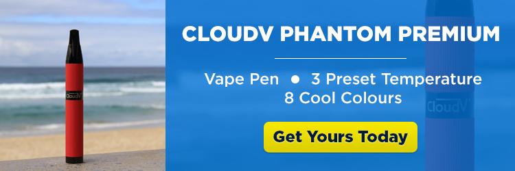 Red CloudV Phantom Premium on the beach - CTA banner