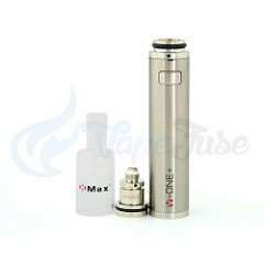X Max V-One Plus Concentrate Vaporizer with mouthpiece and atomizer off