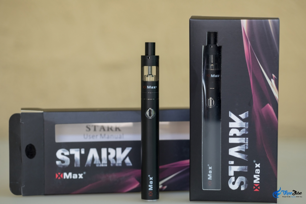 X Max Stark Wax Pen - out of the box