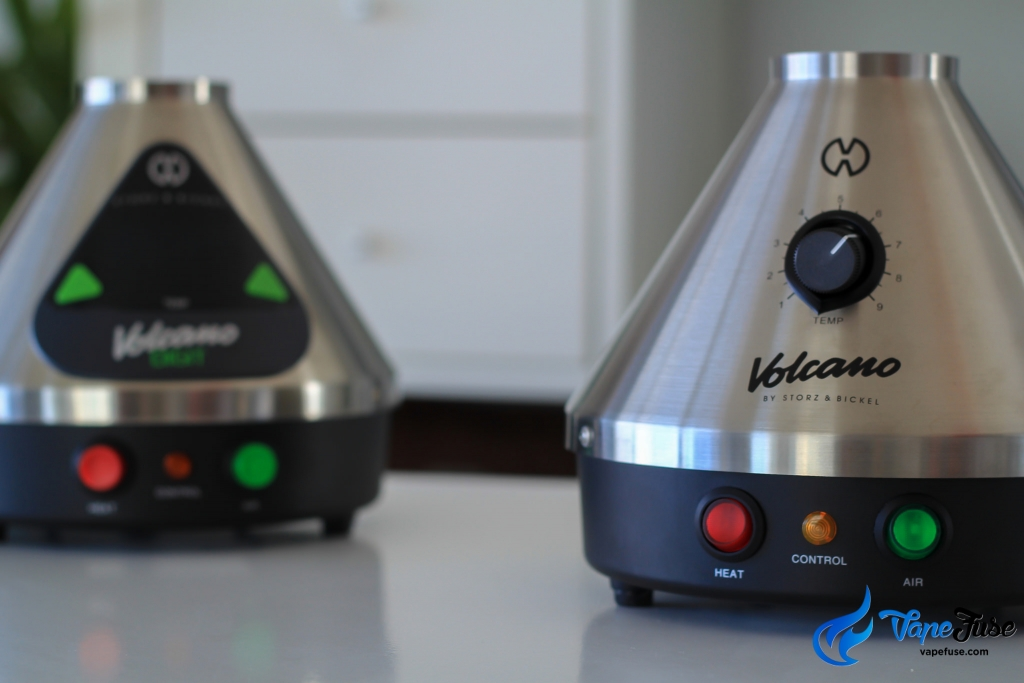 Storz & Bickel Volcano Digit and Classic vaporizers