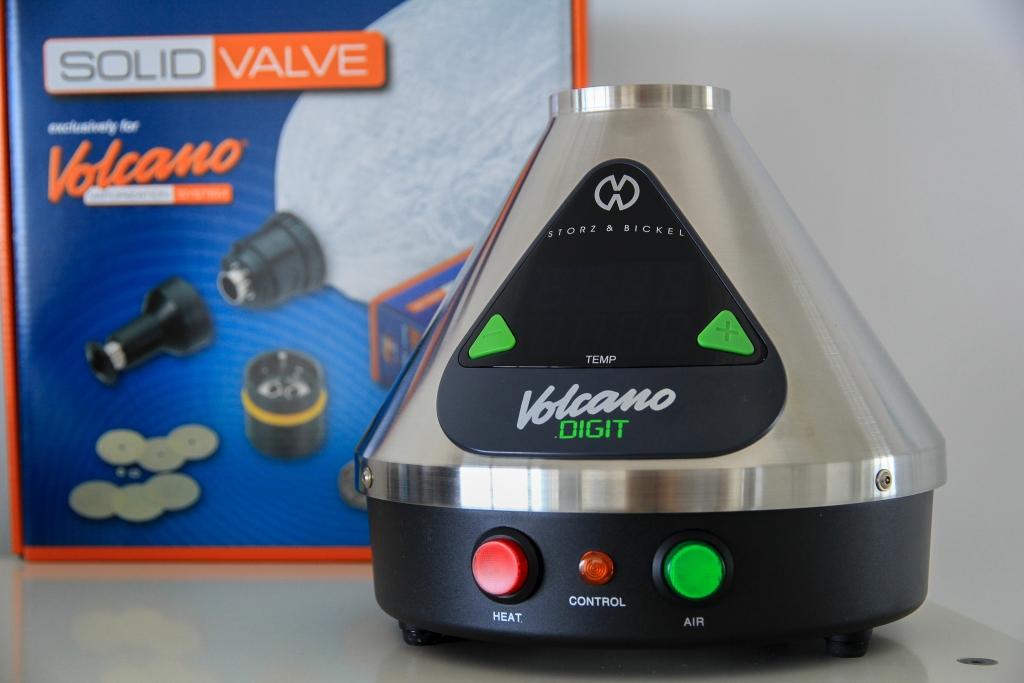 S&B Volcano Digit Desktop Vaporizer