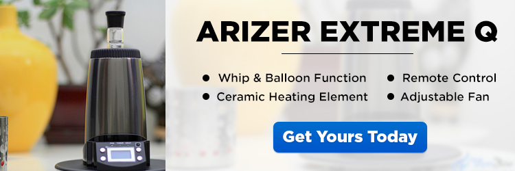Arizer Extreme Q Vaporizer - CTA