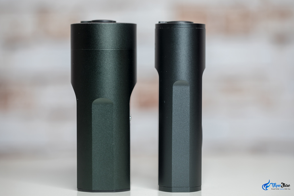 Arizer Solo vs Solo II - side view