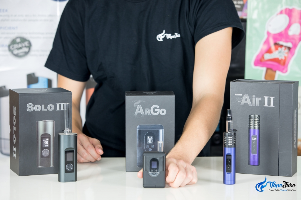 New Arizer Portable Vape