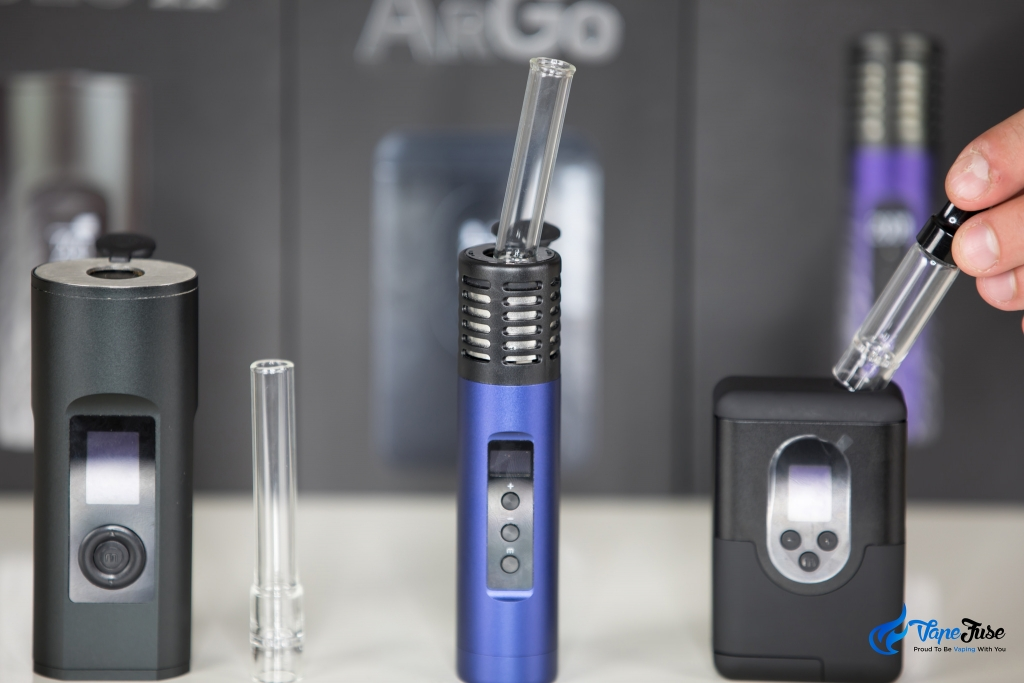 New Arizer Portable Vaporizer Range - Solo II, Air II and ArGo