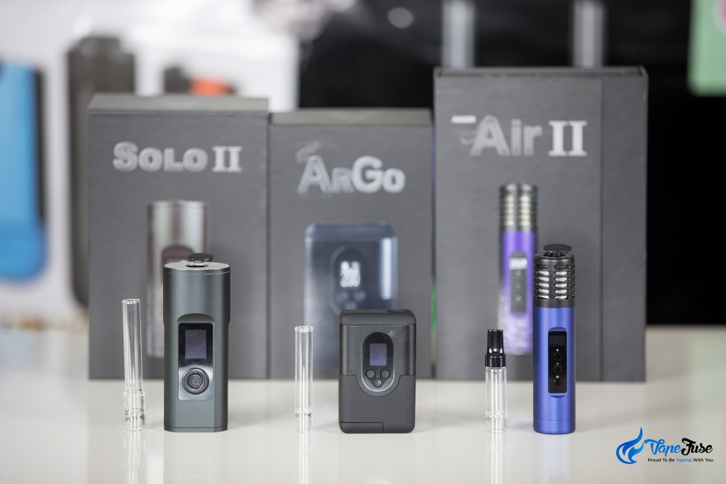 New Arizer Portable Vapes