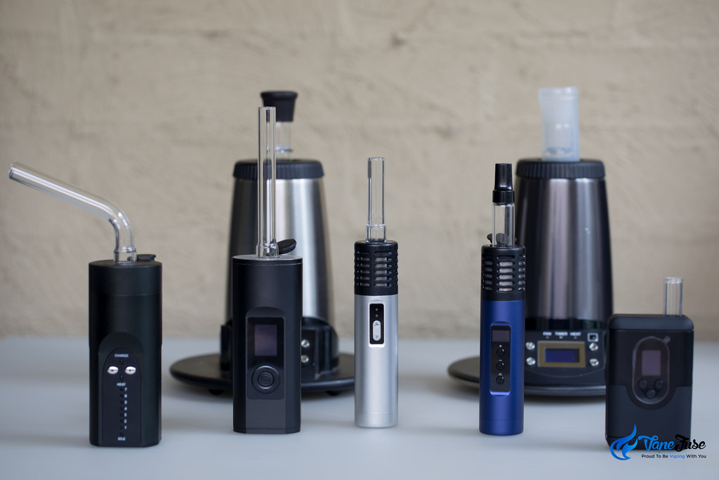 Arizer Desktop and Portable Vaporizer Range