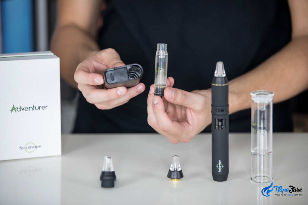 FocusVape Pro and Adventurer portable vaporizers