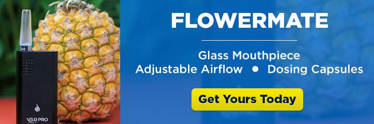 Flowermate Portable Vape - CTA