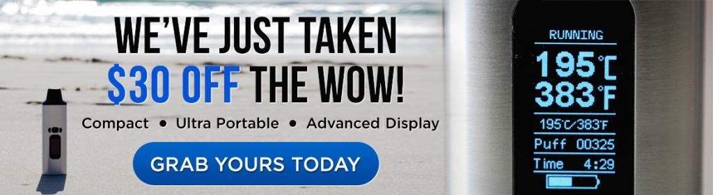 ALD Amaze WOW portable vaporizer - CTA