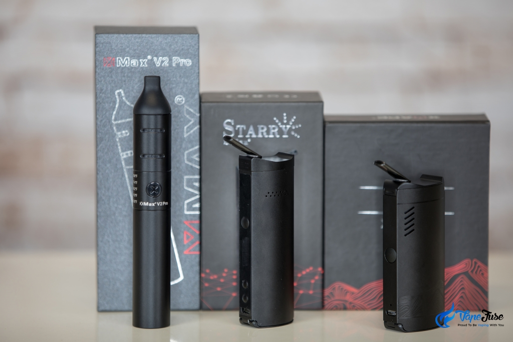 X Max Line of Portable Vapes - X Max V2 Pro, Starry & XVape Fog Portable Vaporizers
