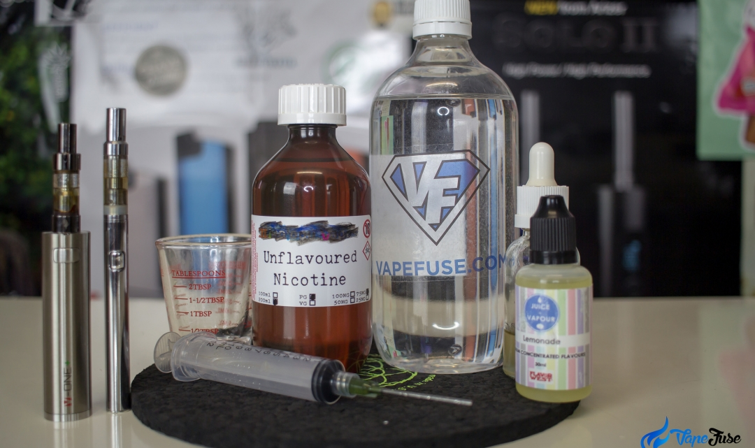 Mixing Nicotine-Rich eJuice: How to do it Safely