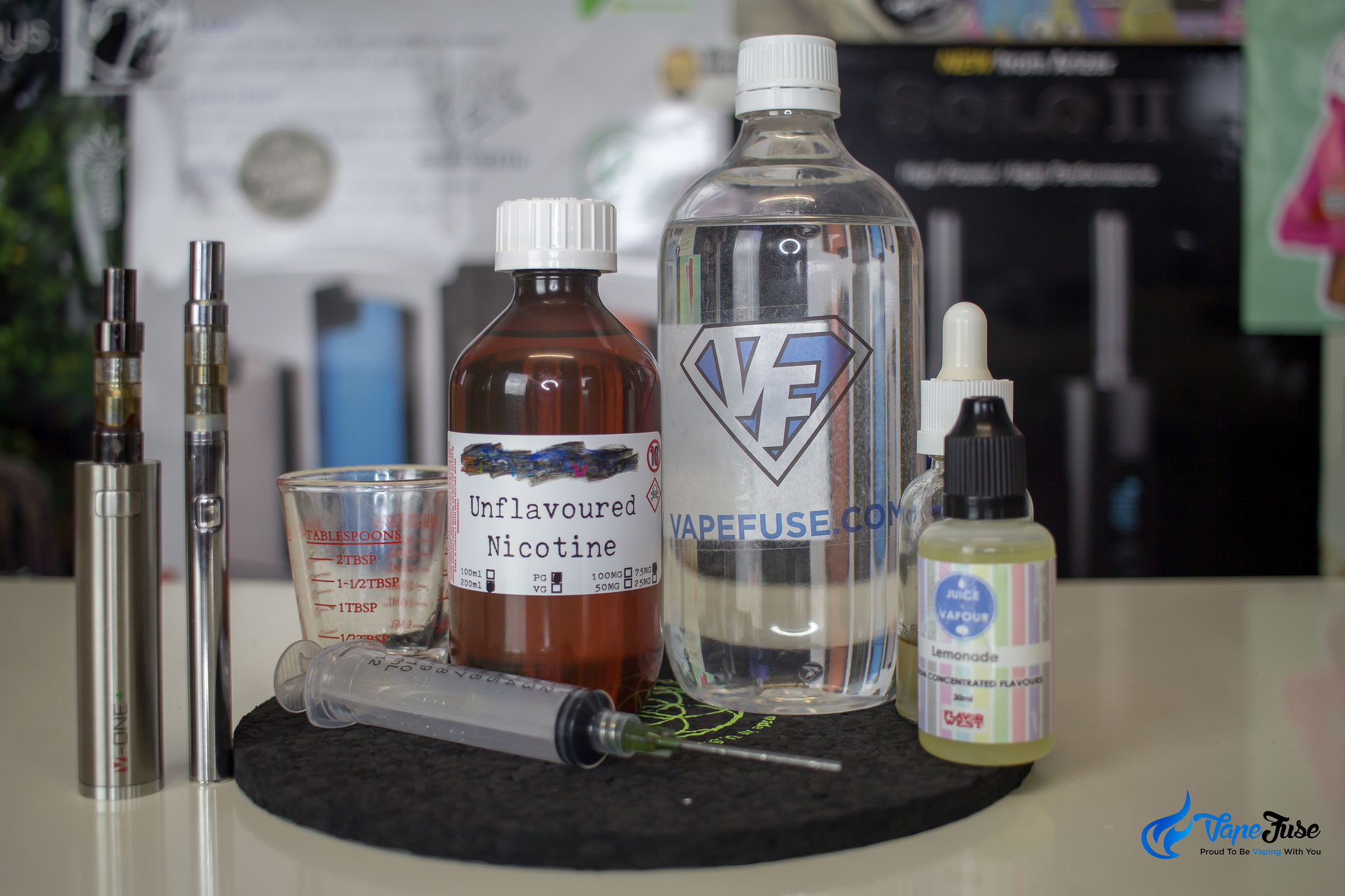 Mixing Nicotine-Rich eJuice: How to do it Safely | VapeFuse Blog