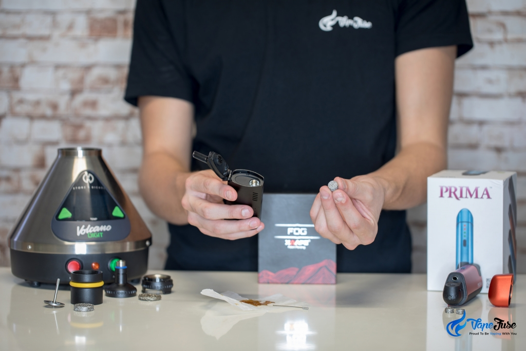 Liquid Pad of the X Vape Fog Portable Vaporizer