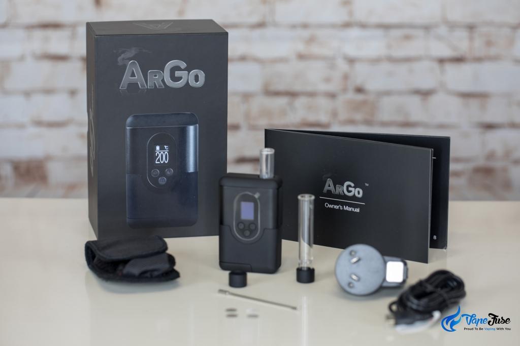 Arizer ArGo Portable Vaporizer inclusions
