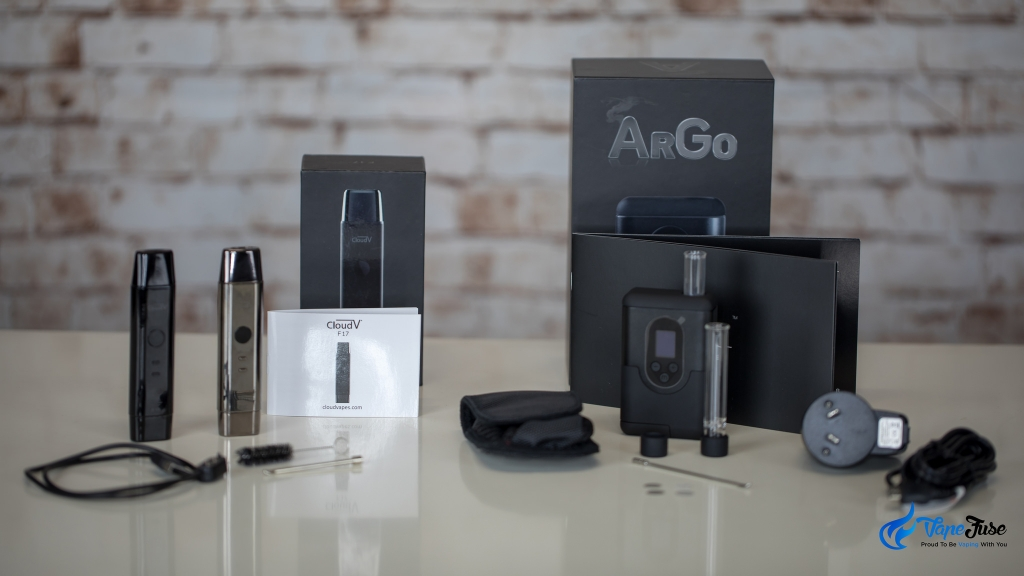 CloudV F17 vs Arizer ArGo with inclusions