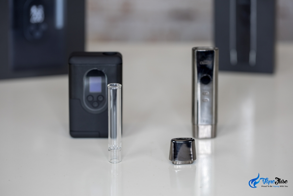 CloudV F17 vs Arizer ArGo - mouthpieces