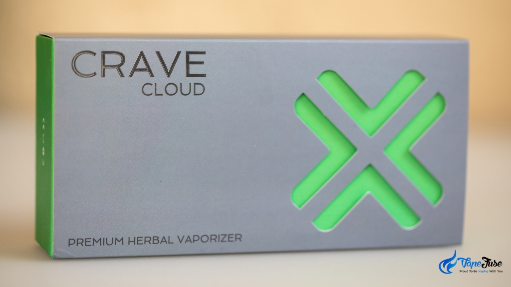 Crave Cloud Portable Vaporizer - box