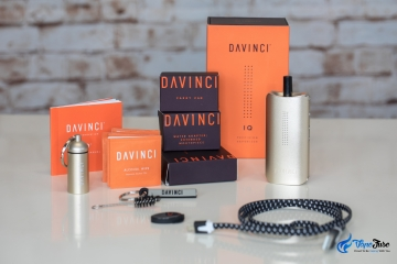 Breaking Down the DaVinci IQ Vaporizer: Portable Vape Review