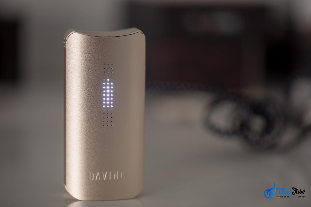DaVinci IQ battery display