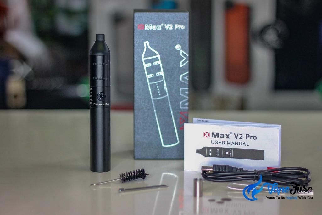 X Max V2 Pro Portable Vape inclusions