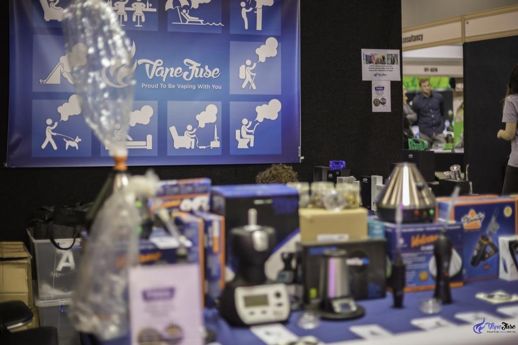 VapeFuse Booth at the Hemp Health & Innovation Expo