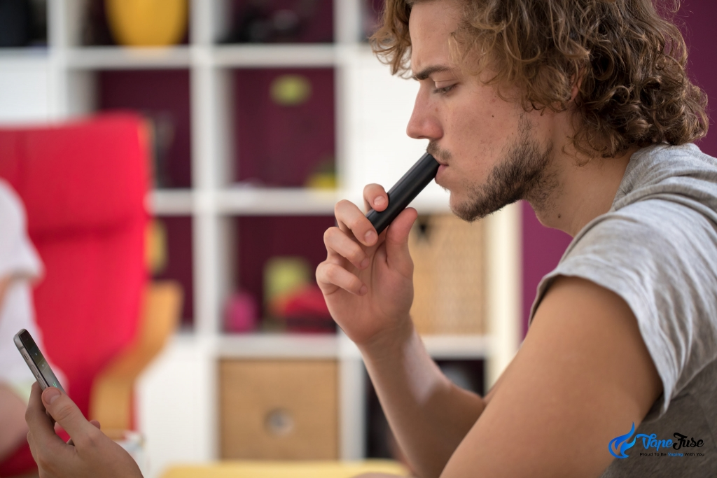 Using a Smartphone App with Your Portable Vape