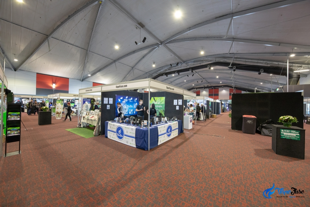 VapeFuse Booth - Sydney Hemp Health & Innovation Expo 2018