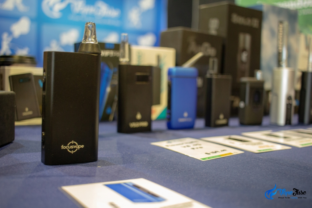 VapeFuse vape range - Sydney Hemp Health & Innovation Expo 2018