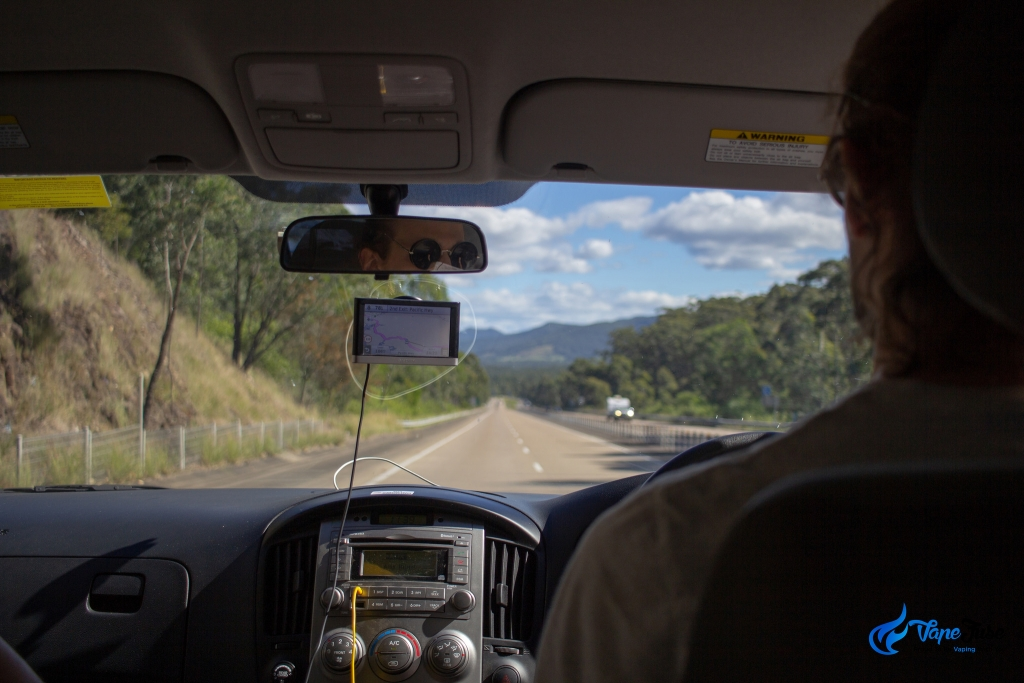 Driving home from Sydney Hemp Health & Innovation Expo 2018