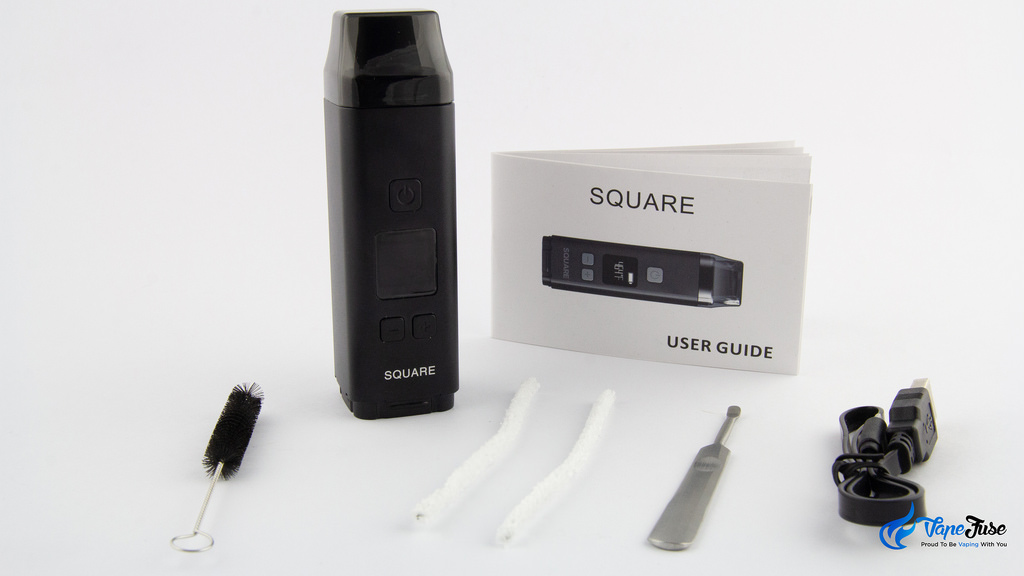 Square Dual Mode Digital Portable Vaporizer-what is in the box