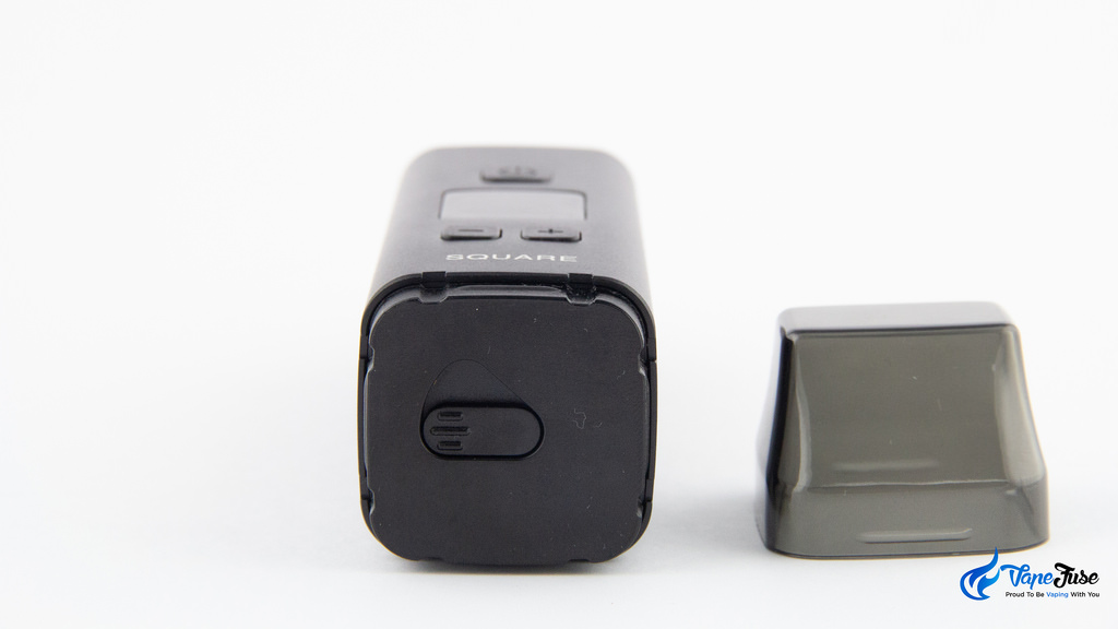 Square Dual Mode Digital Portable Vaporizer -air path fully closed