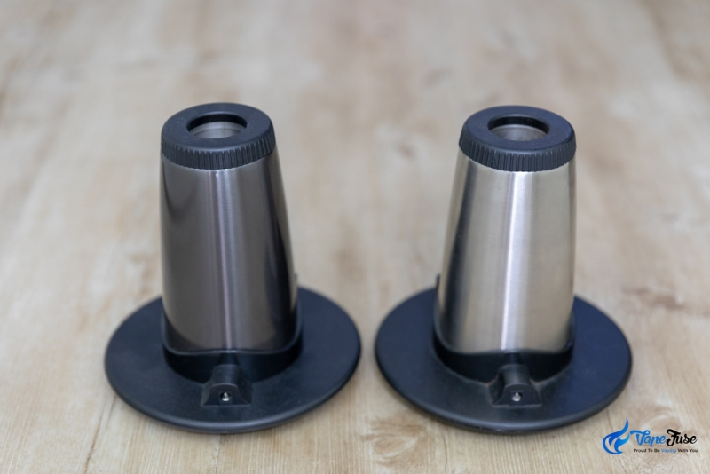 Arizer Extreme Q vs V-Tower Back-View